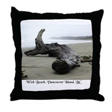 Cute Vancouver island Throw Pillow