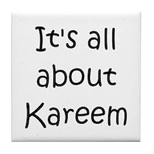 Funny Kareem Tile Coaster