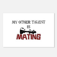 My Other Talent Is Mating Postcards (Package of 8)