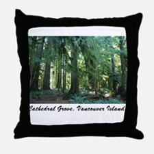 Cathedral Grove 30 Throw Pillow