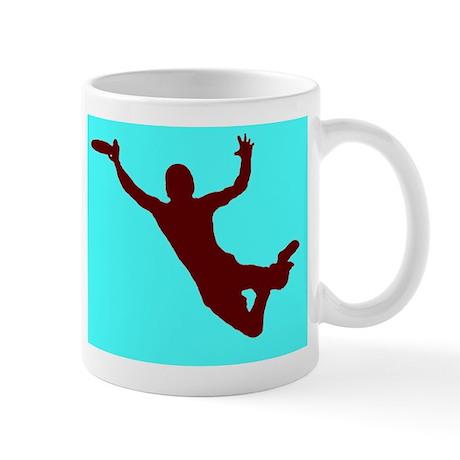 BLUE RED DISC CATCH Mug