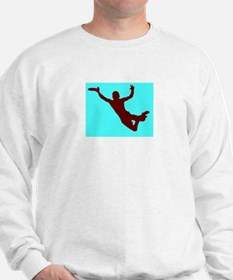 BLUE RED DISC CATCH Sweatshirt