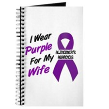 I Wear Purple For My Wife 18 (AD) Journal
