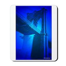 Brooklyn Bridge Waterfalls Mousepad