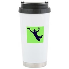 GREEN BLUE DISC CATCH Travel Mug