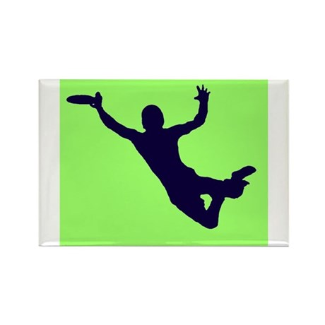 GREEN BLUE DISC CATCH Rectangle Magnet (10 pack)