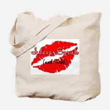 I love Sarah (and Todd) Tote Bag