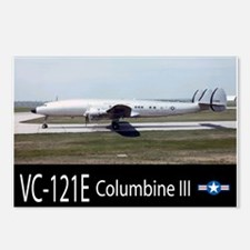 VC-121E Columbine III Aircraft Postcards (Package