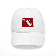 RED WHITE DISC CATCH Baseball Cap