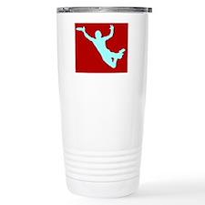 RED WHITE DISC CATCH Travel Mug