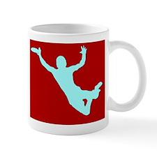 RED WHITE DISC CATCH Mug