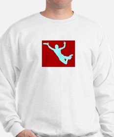 RED WHITE DISC CATCH Sweatshirt