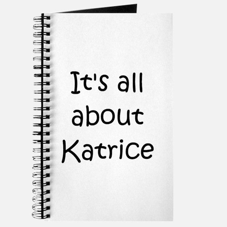 Cute Katrice Journal