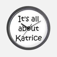 Katrice Wall Clock