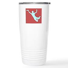 CHALK RED WHITE DISC CATCH Travel Mug