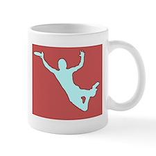 CHALK RED WHITE DISC CATCH Mug