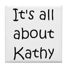 Cute Kathy Tile Coaster
