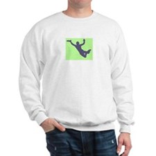 CHALK GREEN BLUE DISC CATCH Sweatshirt