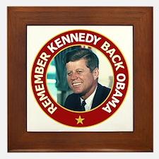 JFK Color Image Framed Tile