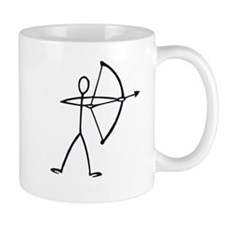 Stick figure archer Mug