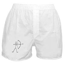 Stick figure archer Boxer Shorts