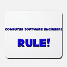 Computer Software Engineers Rule! Mousepad