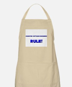 Computer Software Engineers Rule! BBQ Apron