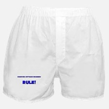 Computer Software Engineers Rule! Boxer Shorts