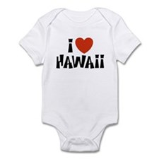 I Love Hawaii Infant Creeper