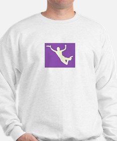 CHALK PURPLE CREAM DISC CATCH Sweatshirt