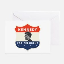 John F. Kennedy Shield Greeting Cards (Pk of 10)