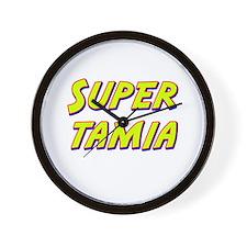 Super tamia Wall Clock
