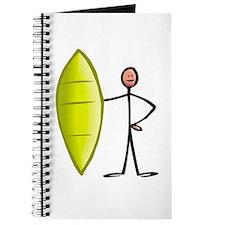 Stick figure surfer Journal
