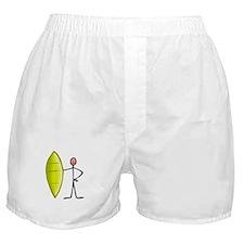 Stick figure surfer Boxer Shorts