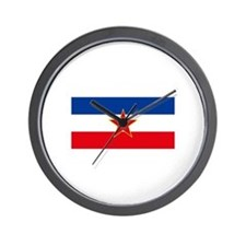 Unique Bosnia Wall Clock