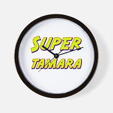 Super tamara Wall Clock