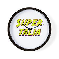Super talia Wall Clock
