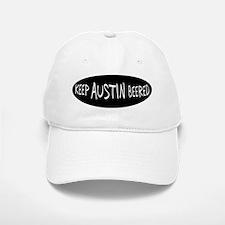 Keep Austin Beered Baseball Baseball Cap