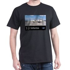 X-3 Stiletto Jet Aircraft T-Shirt