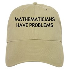 Mathematicians Baseball Baseball Cap