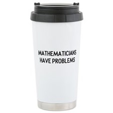 Mathematicians Travel Mug