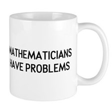 Mathematicians Small Mug