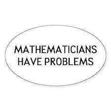 Mathematicians Bumper Stickers