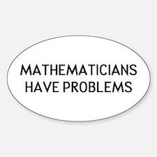 Mathematicians Decal