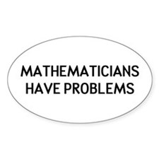 Mathematicians Stickers