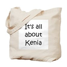 Kenia Tote Bag