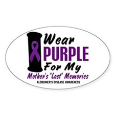 Mother's Lost Memories 2 Oval Decal