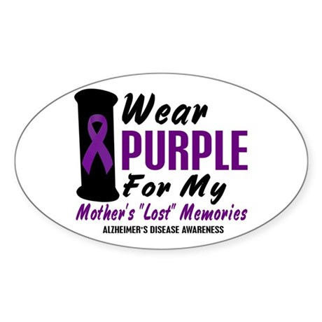 Mother's Lost Memories 2 Oval Sticker