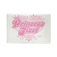 """Princess Itzel"" Rectangle Magnet"