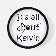 Unique Kelvin Wall Clock